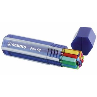 STABILO Pen 68, 20er Big Pen Box